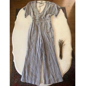 Vintage Stripe Jumpsuit